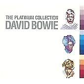 David Bowie - The Platinum Collection - Very Best Of - Greatest Hits 3 Cd New