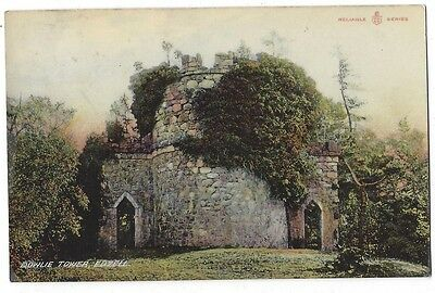 EDZELL Doulie Tower, Reliable Series Postcard Postally Used 1907