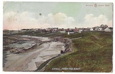 CRAIL From the East, Reliable Series Postcard by Scott, Postally Used 1907