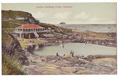 DUNBAR Ladies Bathing Pond, Reliable Series Postcard, Unused