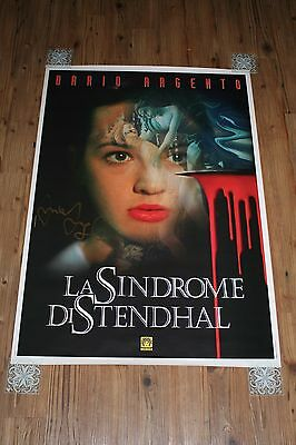THE STENDHAL SYNDROME - VERY RARE ITALIAN 1FOGLI - Signed by ASIA ARGENTO