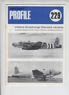 (E1A) PROFILE n° 229 : VICKERS-ARMSTRONGS WARWICK VARIANTS