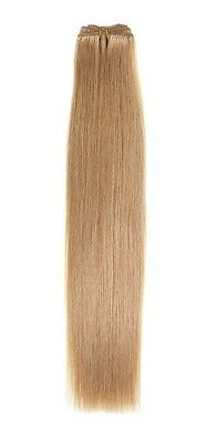 Euro Silky Weave | Human Hair Extensions | 18 inch | Golden Blonde (25)