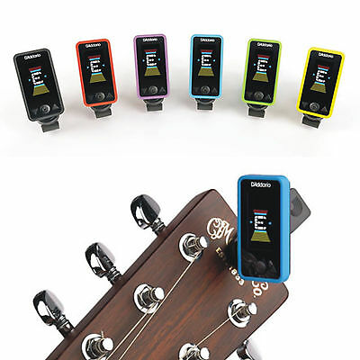 Planet Waves ECLIPSE TUNER Clip-on Chromatic Tuner with a choice of Colours
