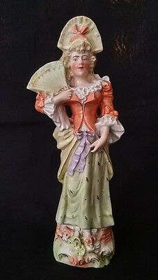 Antique Porcelain Period Figurine #1960 – 9¾ Inches Tall