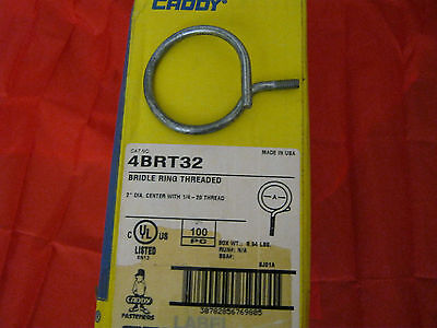 Erico Caddy 4BRT32 Bridle Ring Threaded, 134 Count