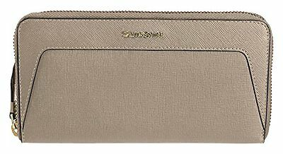 Samsonite 66619/2116 Lady Saffiano Portamonete, 18 cm, Warm Grey