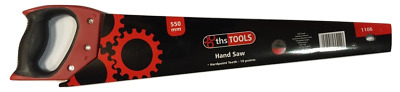"PVR 1106 -  22"" Inch 10TPI Heavy Duty Hard Point Handsaw General Use Hand Saw"