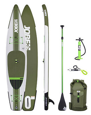 2017 Jobe Aero NEVA 12.6 Inflatable Paddle Board SUP Touring Package