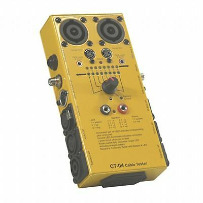 Sound LAB CT4 Cable Tester (universal lead tester for use with most audio cab...