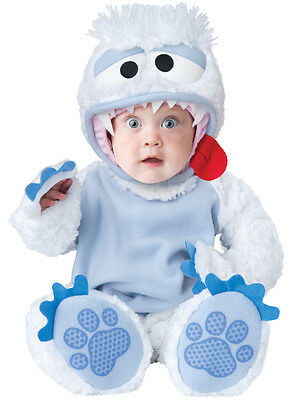 Costume Carnevale Incharacter Bambino Delle Nevi Peluche Top Quality 6/12 Mesi