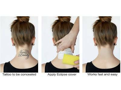 TatJacket Tattoo Cover Up Kit Patch Set Scar Birthmark Concealer in 3 Colours