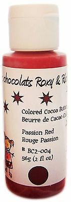 Cocoa Butter -  2 oz - Passion Red