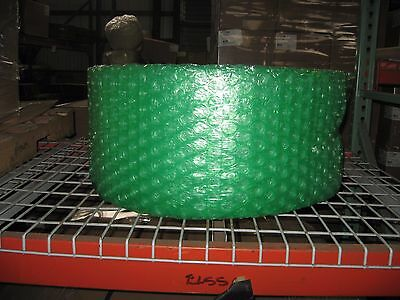 """Large Green Recycled 1/2"""" Bubble, 12"""" x 125' Per Roll - SHIPS FREE"""