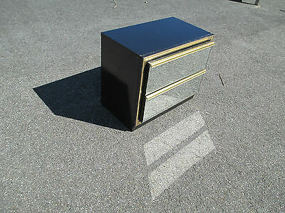 2 Drawer Mirror Front CHEST / DRESSER delivery avaialble - Mid Century / Modern