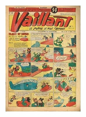 Vaillant   N°    204   1949   Be/be+