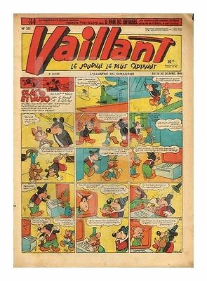Vaillant   N°    205   1949   Be/be+