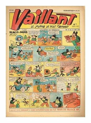 Vaillant   N°    213   1949   Be/be+