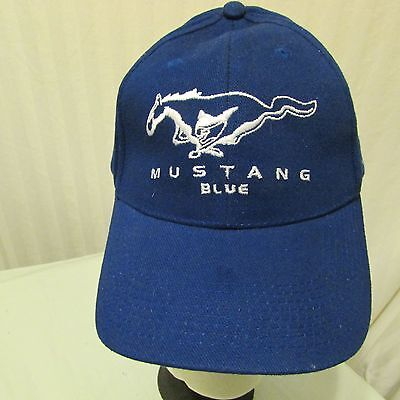 Ford Mustang Advertising Baseball Hat Embroidered LIKE KNEW Adjustable