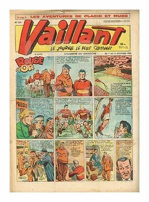 VAILLANT   N°    234   1949   BE/BE+ (Nc Pl )