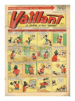 VAILLANT   N°    240   1949   BE/BE+ (Nc)