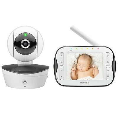 Motorola MBP43S Wireless Video Baby Monitor, New Born Health Essentials