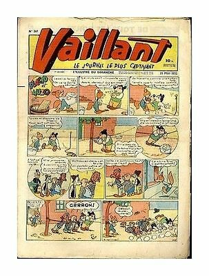 Vaillant   N°    367   1952   Be/be+  Ea