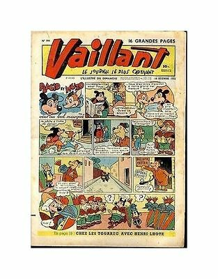 Vaillant   N°    396   1952   Be/be+