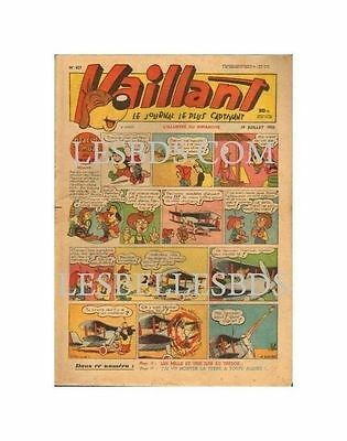 Vaillant   N°    427   1953   Be
