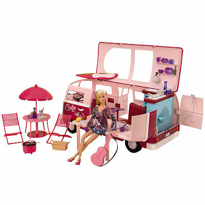 Steffi Hawaii Camper Van and Doll, Kids Creative Play Toys, Only at Toys R Us