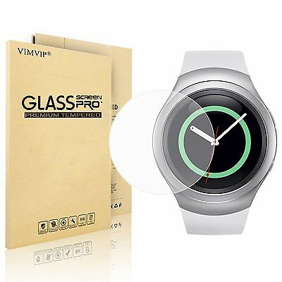 Samsung Gear S2 Classic Smart Watch Screen Protector Film Guard Tempered Glass
