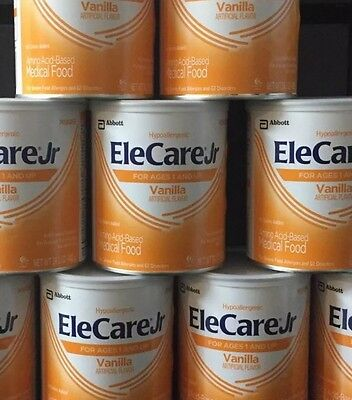 6 Cans of Elecare JR Vanilla Free Shipping