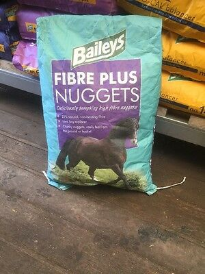 Baileys Fibre Plus Nuggets 20kg horse feed collection glossop