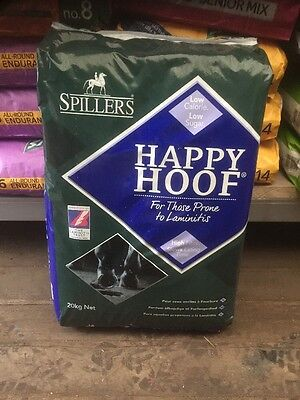 Spillers Happy Hoof 20kg horse feed collection glossop