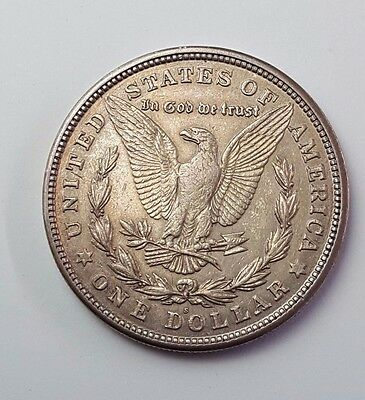 U.s.a - Dated 1921 - Silver - Morgan - $1 One Dollar Coin - American Silver Coin