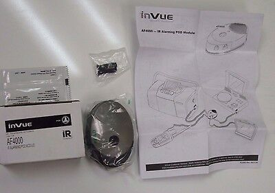 New InVue security system AF4000 IR Alarming POD Module Mold F673 in box+extras