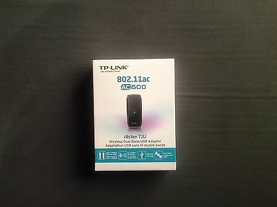 TP-Link Archer T2U AC600 USB2.0 Wireless Adapter