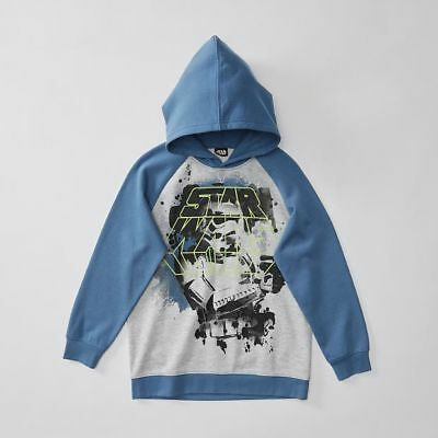 NEW Star Wars Pull Over Hoodie