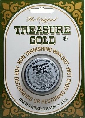The Original Treasure Wax 25 G Pot Silver