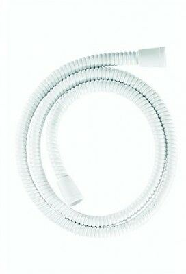 Croydex Essentials Reinforced PVC Shower Hose, 1.25 m, White