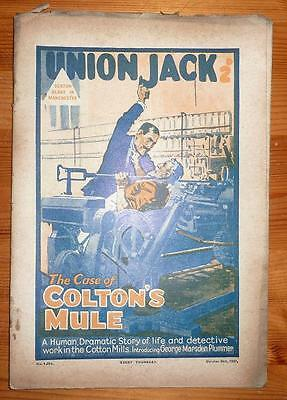UNION JACK No 1254 29TH OCT 1927 THE CASE OF COLTON'S MULE SEXTON BLAKE