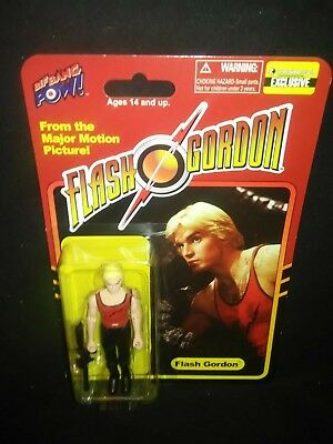 Flash Gordon Flash Red Tank Shirt Black Lightning Bolt 3 3//4-Inch Action Figure