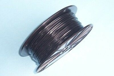 Black Vinyl Coated Wire Rope Cable,1/16 - 3/32, 7x7, 250 ft Reel