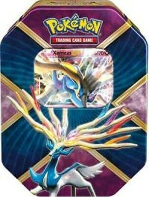 POKEMON - Xerneas Shiny Kalos EX Tin, Foil, 4 Booster Packs - Xerneas-PO16SUSKT