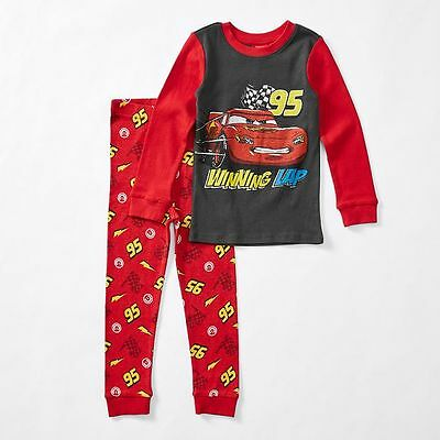 NEW Disney Cars Long Sleeve Pyjama Set Kids