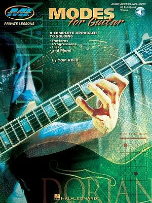 Modes for Guitar Music Book with Audio Access