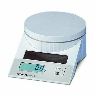 MAUL Solar Letter Scales MAULtronic S. 5000 gr. White