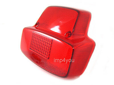 Taillight Rear Lens cover for Vintage Vespa Sprint 150 (VLB) Super 150 (VBC)