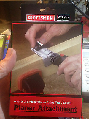 Craftsman --PLANER ATTACHMENT---923665-(NEW)-FOR USE WITH 9-61120