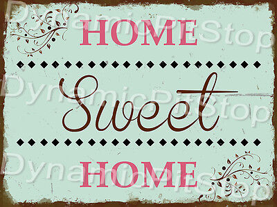30x40cm Home Sweet Home Vintage Rustic Tin Sign